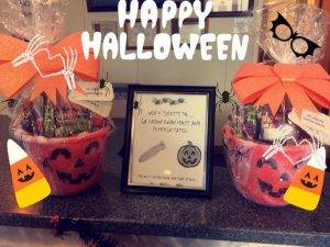 Halloween give away